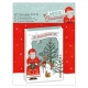 "5 X 7"" Decoupage Card Kit - Merriest Christmas (PMA 169960)"