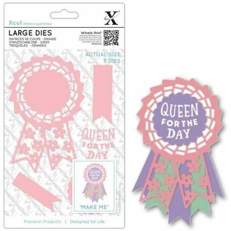 Large Dies - Queen for the Day 5pcs (XCU 503092)