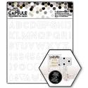 8 x 8 Adhesive Stencil - Alphabet (PMA 503276)