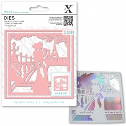 Xcut Dies - Paris in Love 2pcs (XCU 503381)
