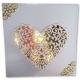 Xcut Dies - Floral Love Heart 1pc (XCU 503441)