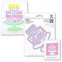 Xcut Dies - Floral Cake 2pcs (XCU 503095)