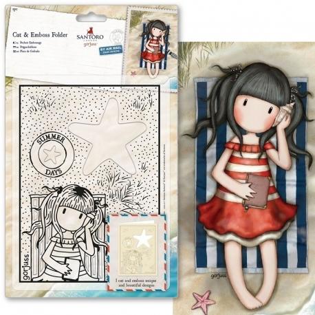 Cut & Emboss Folder - Gorjuss, Summer Days (GOR 503012)