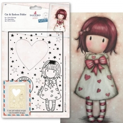 Cut & Emboss Folder - Gorjuss, Little Heart (GOR 503014)