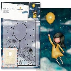 Cut & Emboss Folder - Gorjuss, Fly Away with Me (GOR 503015)