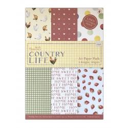 A5 Paper Pack Linen (24pk) - Country Life (PMA DCM 070)