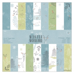 Winter Wonderland 6x6 Paper Pack 36pcs (PMA 160965)