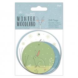 Winter Wonderland Gift Tags 20pcs (PMA 157986)