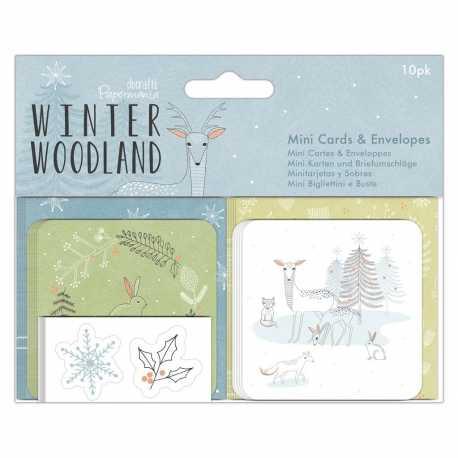 Winter Wonderland - Mini Cards & Envelopes (PMA 150923)