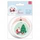 At Home with Santa - Shaped Gift Tags 20pcs (PMA 157982)