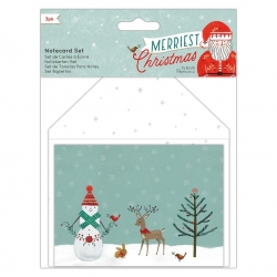 Merriest Christmas - Notecard Set (PMA 150924)