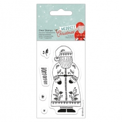 Merriest Christmas Clear Stamp - Santa (PMA 907976)