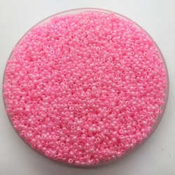 2mm Glass Seed Beads - Pink (1000pcs)