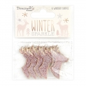 Dovecraft Winter Sparkle Glittered Wooden Stags (DCWDN110X20)