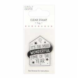 Simply Creative Clear Stamp - Wonderful Time (SCSTP030X20)