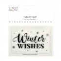 Simply Creative Large Clear Stamp - Winter Wishes (SCSTP036X20)
