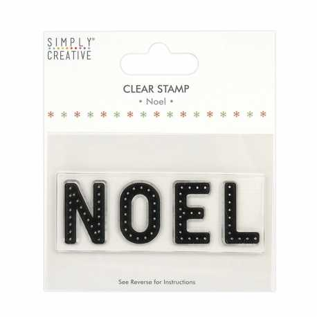 Simply Creative Large Clear Stamp - Noel (SCSTP037X20)