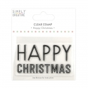 Simply Creative Large Clear Stamp - Happy Christmas (SCSTP038X20)