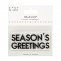 Simply Creative Large Clear Stamp - Season's Greetings (SCSTP041X20)