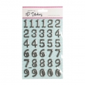 Foil Pop Up Numbers - Silver (STA2942OB)