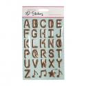 Foil Pop Up Alphabet - Copper (STA2942OB)