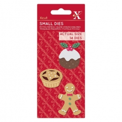 Small Dies - Christmas Treats 14pcs (XCU 503517)