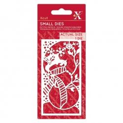 Small Dies - Snowman 1pc (XCU 503516)