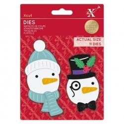 Xcut Dies - Build-a-Snowman 11pcs (XCU 503521)