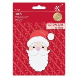 Xcut Dies - Build-a-Santa 10pcs (XCU 503522)