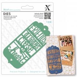 Xcut Dies - Friends Always Tag 1pc (XCU 504076)
