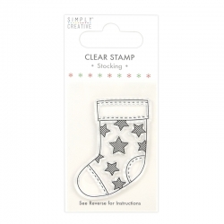 Simply Creative Clear Stamp - Stocking (SCSTP032X20)