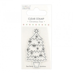 Simply Creative Clear Stamp - Tree (SCSTP034X20)