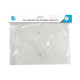 A4 Clear Button Document Wallets - 4 Pack (STA3123)