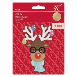 Xcut Dies - Build-a-Reindeer 9pcs (XCU 503523)
