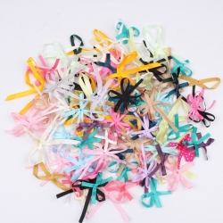 Grosgrain Ribbon Bows Assorted (100pcs)