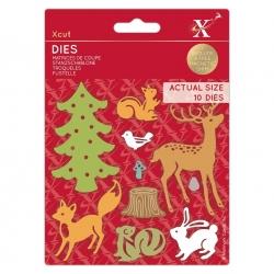 Xcut Dies - Woodland Animals (XCU 503519)