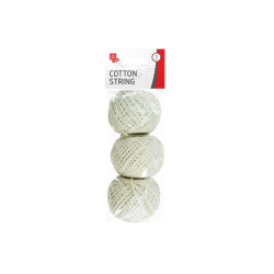 Cotton String Balls, 3 Pack (STA0387)