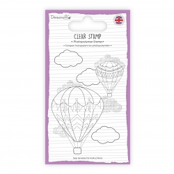 Dovecraft A7 Clear Stamp - Hot Air Balloon (DCSTP136)