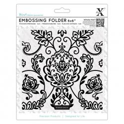 6x6 Embossing Folder - Arts & Crafts Tile (XCU 515925)