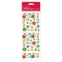 Foil Stickers - Holly Advent Numbers (PMA 804917)