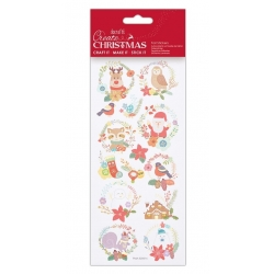 Foil Stickers - Folk Wreaths (PMA 828914)