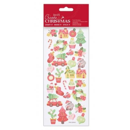 Foil Stickers - Xmas Cactus (PMA 828922)