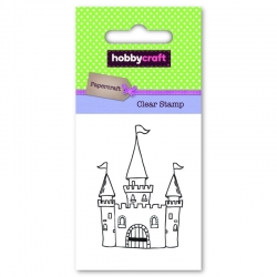 Hobbycraft Clear Stamp - Princess Castle (50292HC)