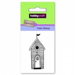 Hobbycraft Clear Stamp - Beach Hut (50254HC)