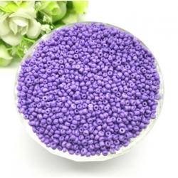 2mm Seed Beads - Light Purple (1000pcs)
