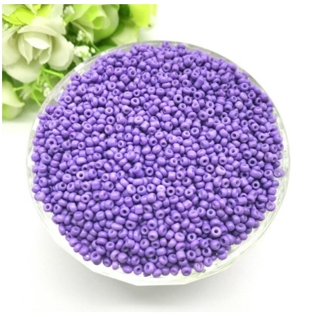 2mm Seed Beads - Light Purple (1000pcs)