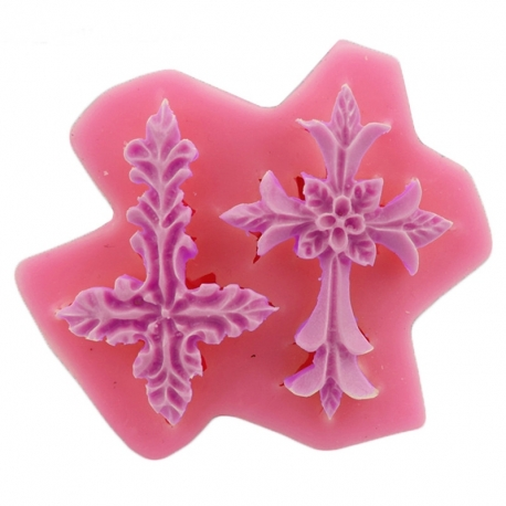Small Silicone Mould - Crosses