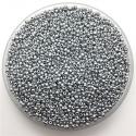 Seed Beads - Matt Silver (1000pcs)