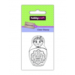 Hobbycraft Clear Stamp - Russian Doll (50237HC)