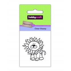 Hobbycraft Clear Stamp - Lion (50270HC)